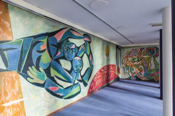 Wandkunstwerk Louis van Roode