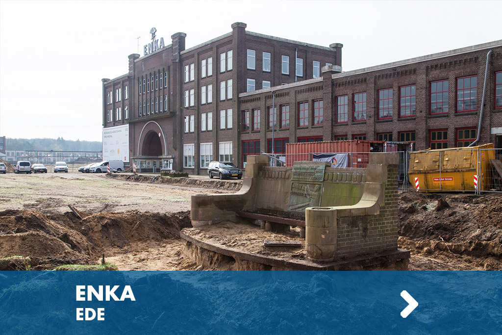 herinneringsbank en fontein ENKA